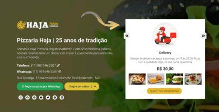 Cadastre produtos em seu Hotsite e incla link para pagamentos se desejar